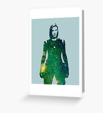Starbuck - Battlestar Galactica Greeting Card