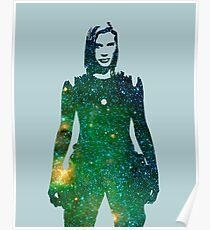 Starbuck - Battlestar Galactica Poster