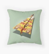 MAG Paper Airplane 148 Throw Pillow
