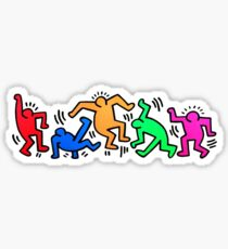 Keith Haring Dancing  Sticker