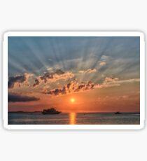 Sunbeam Sunset Sticker
