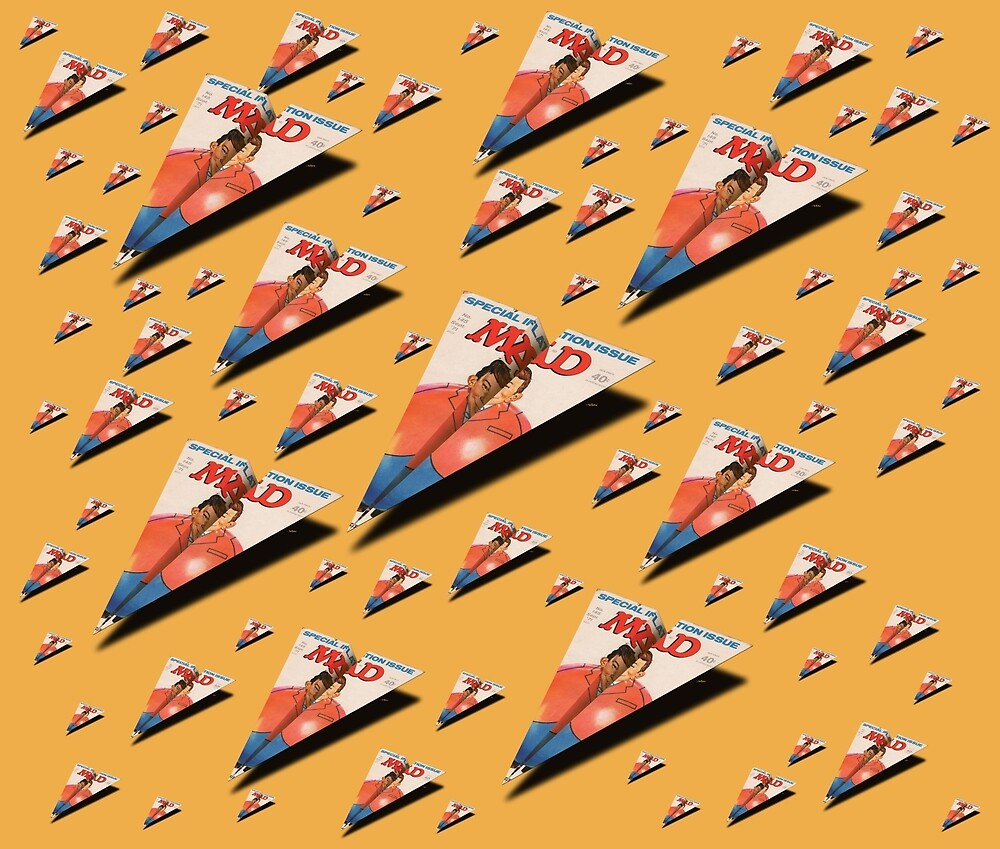 MAG Paper Airplane 145 Pattern by YoPedro