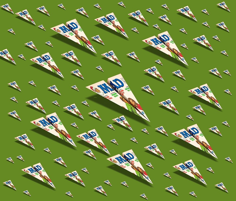 MAG Paper Airplane 188 Pattern by YoPedro
