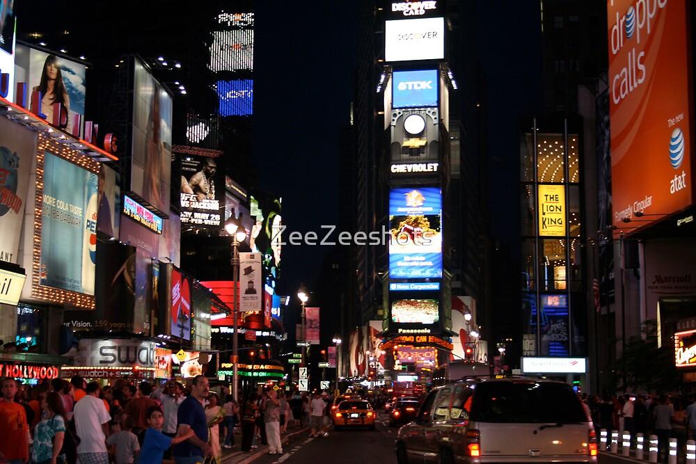 The Night Life of New York City by ZeeZeeshots