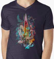 Xenoblade Chronicles™ 2 - Team Men's V-Neck T-Shirt