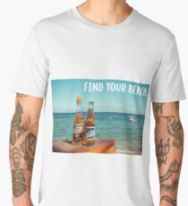 Find Your Beach Men's Premium T-Shirt