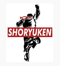 Shoryuken Supreme Photographic Print