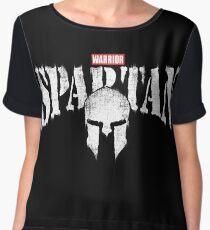 Spartan Warrior Chiffon Top