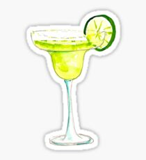 Tropischer Margarita-Aufkleber Sticker