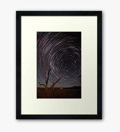 Path To The Wormhole Framed Print