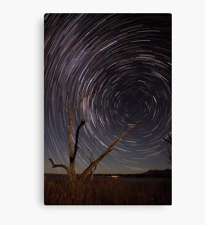 Path To The Wormhole Canvas Print