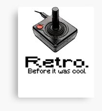 2600: Retro. Before it was cool. Canvas Print