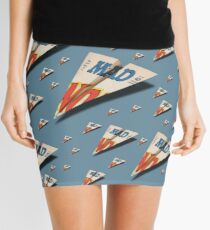MAG Paper Airplane 147 Pattern Mini Skirt