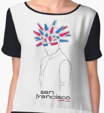 Jamiroquai - San Francisco Chiffon Top