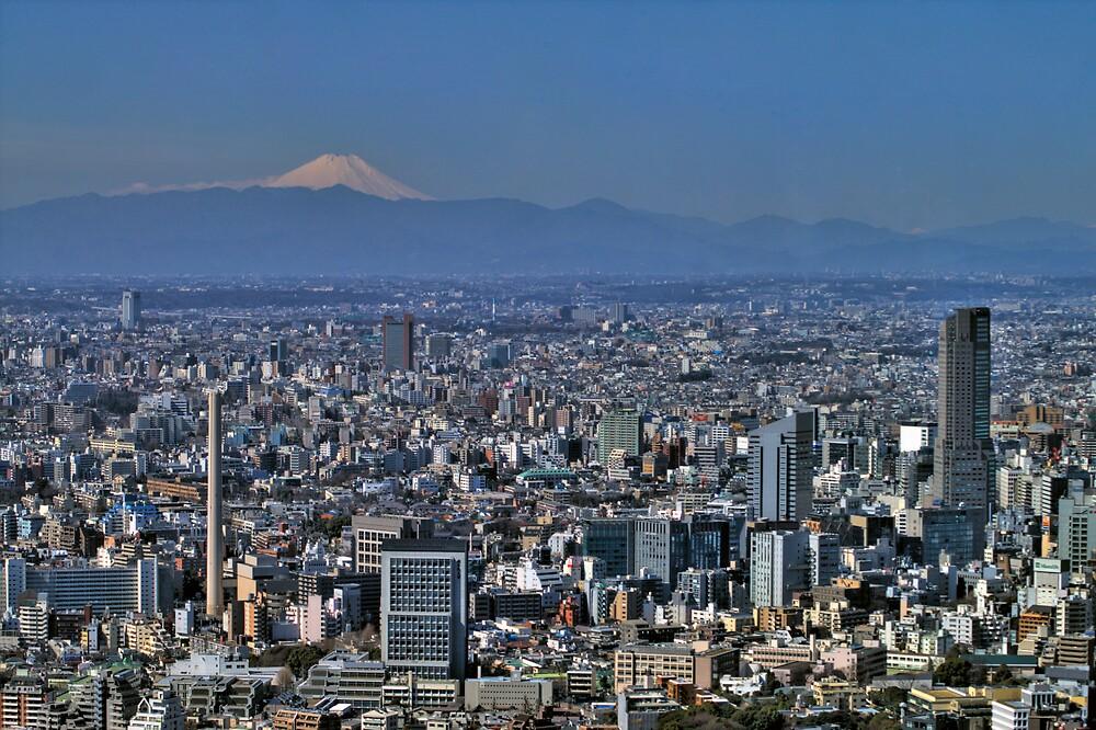 Tokyo City View by Jackson Chu
