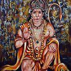Hanuman von Harsh  Malik