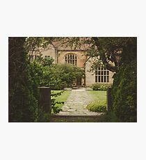 country side cottage Photographic Print