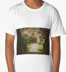 country side cottage Long T-Shirt