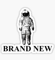 brand new deja entendu logo Sticker