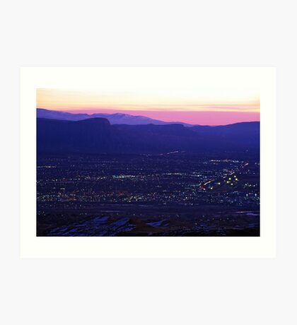 Early Morning Grand Junction, CO Art Print