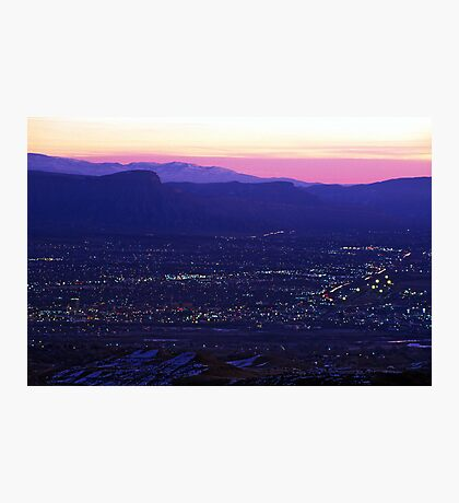 Early Morning Grand Junction, CO Photographic Print