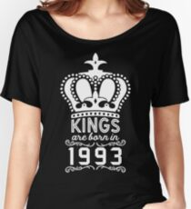 Birthday Boy Shirt - Kings Are Born In 1993 Women's Relaxed Fit T-Shirt