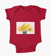 Daffodils One Piece - Short Sleeve