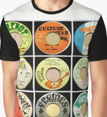 Camiseta gráfica Reggae Roots Rock Reggae 45 para todos los amantes de la música jamaicana