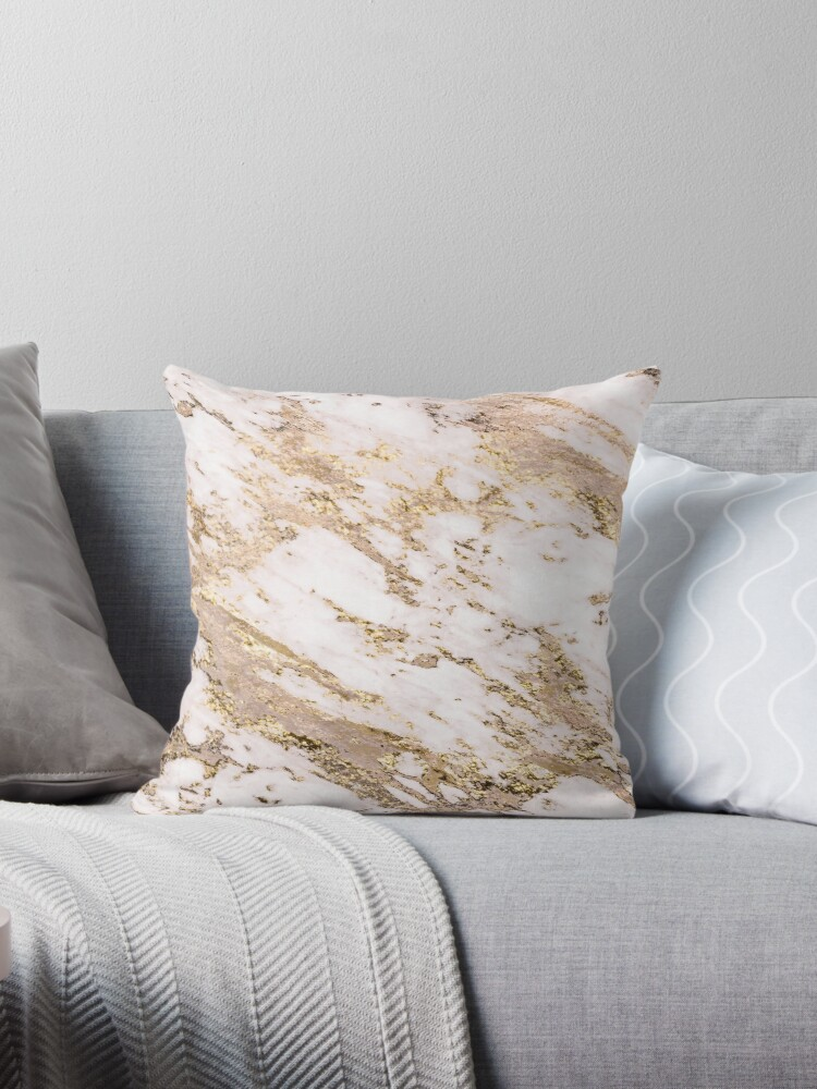 Goldener Fleck - erröten Marmor von marbleco
