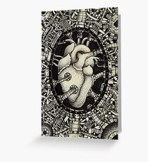 Machine Heart Greeting Card