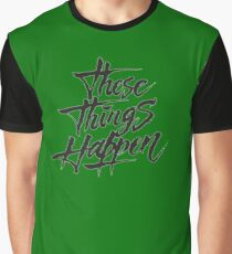 G-Eazy These Things Happen Graphic T-Shirt
