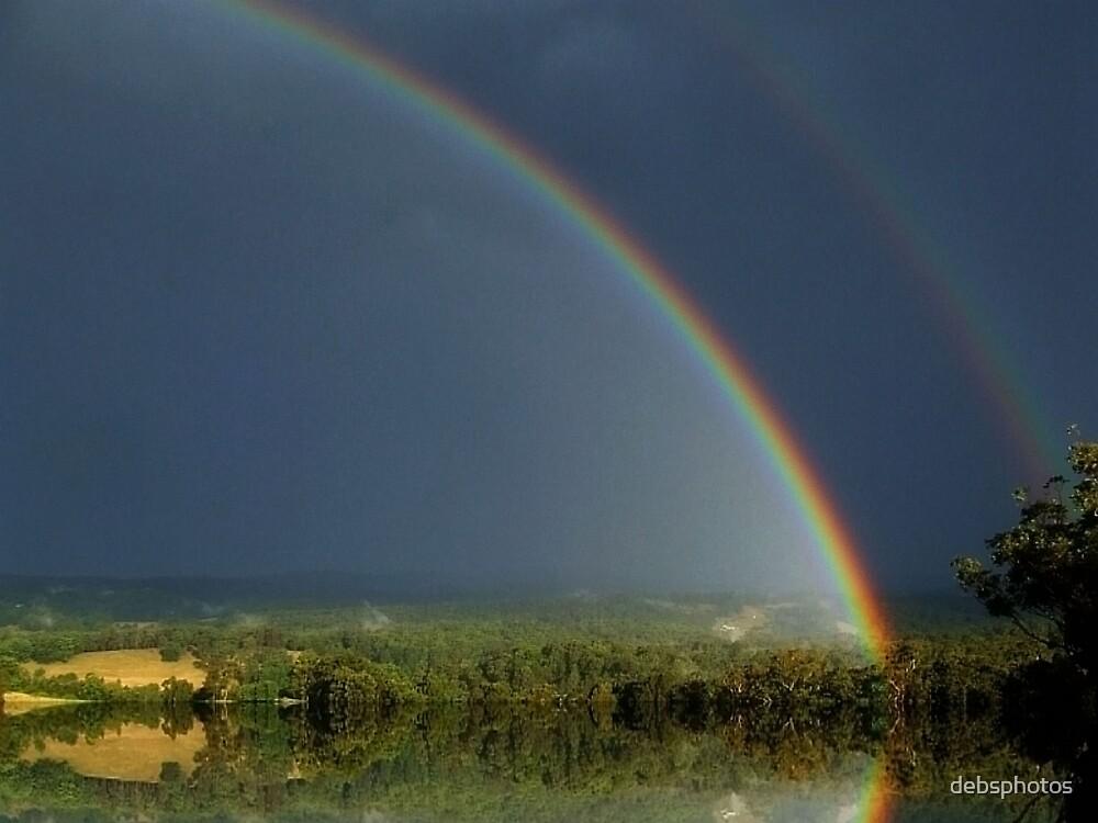 """Rainbow mirage"" by debsphotos"