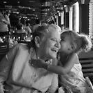 Three generation span.. two smiles by Elizabeth Rodriguez