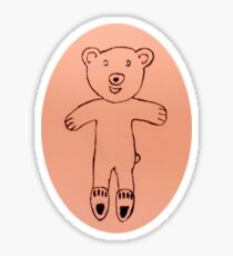 Teddy Bear - Ourson - Martin Boisvert Sticker