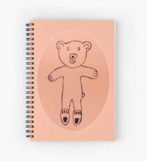 Teddy Bear - Ourson - Martin Boisvert Spiral Notebook