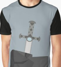 Sword in Stone Graphic T-Shirt