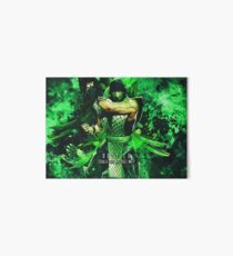 Mortal Kombat Reptile Art Board