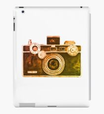 Camera Design iPad Case/Skin