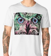 Owl by Oddly Artistic  Men's Premium T-Shirt