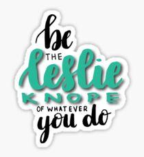 Leslie Knope [2] Sticker