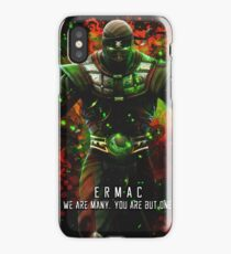 We are many, you are but one. iPhone Case/Skin