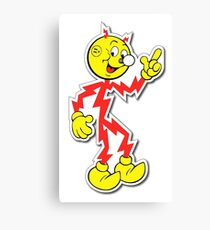 Reddy Kilowatt Canvas Print