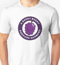 Berry Berry Awesome Husband Funny Fruit Pun Unisex T-Shirt