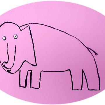 «Éléphant - Martin Boisvert» par martinb1962