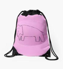 Éléphant - Martin Boisvert Drawstring Bag