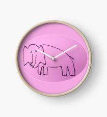 Éléphant - Martin Boisvert Clock