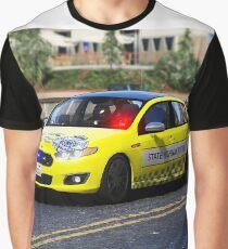 VICPOL Yellow State Highway Patrol Graphic T-Shirt