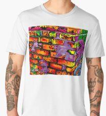 Psychedelic Bricks Men's Premium T-Shirt