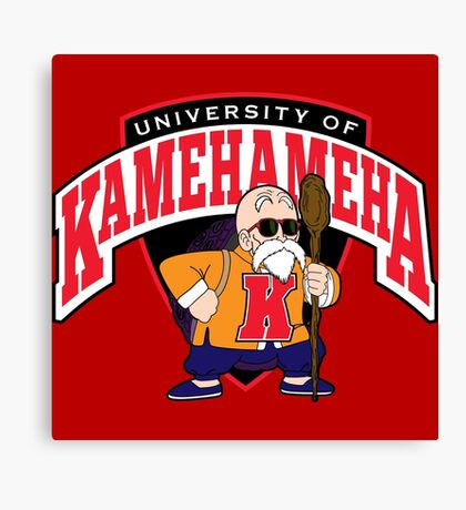 University of Kamehameha Canvas Print