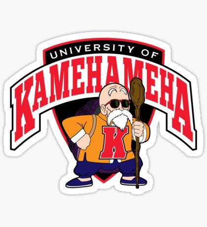University of Kamehameha Sticker